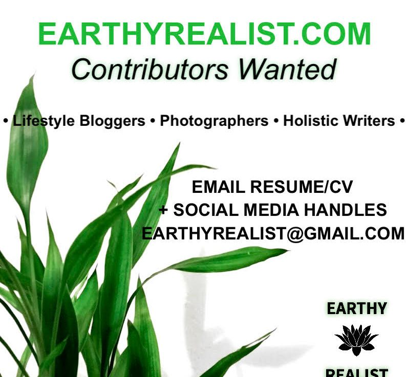 Contributors Wanted For Earthy Realist